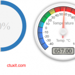 Raspberry pi temperature monitor web interface